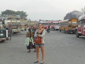 Lau con buses