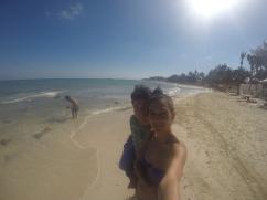 Sol y arena en Playa del Carmen
