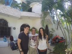Con Arturo