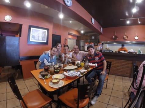 Barbacoa en México DF