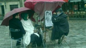Dibujante Paris