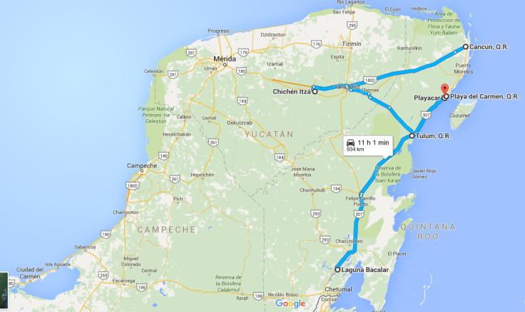 Captura riviera google maps